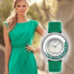 Đồng hồ xanh lá - Màu tình yêu vĩnh cửu