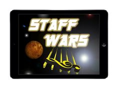 Staff Wars... love to use this game with general music or beginning band. Great for smartboard or ipad app!!