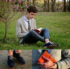 Macho Moda - Blog de Moda Masculina: Como usar Tênis ou Sapato Azul Masculino, Dicas de Looks!