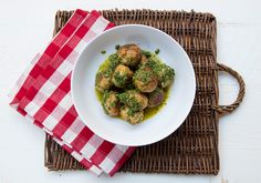Turkey Ricotta Meatballs With Salsa Verde – Italian Food Forever