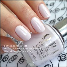 OPI INFINITE SHINE SUMMER 2015 SWATCHES & REVIEW | Beautygeeks