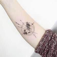 World Tattoo 31 World Tattoo, Tattoos, Design, Tatuajes, Tattoo, World Map Tattoos, Tattos, Tattoo Designs