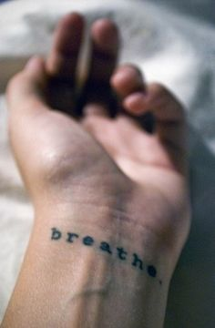 Breath tattoo