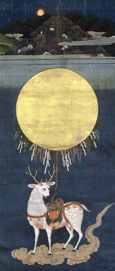 Deer Spirit, Edo Period, Japan (1615-1868) artist not known