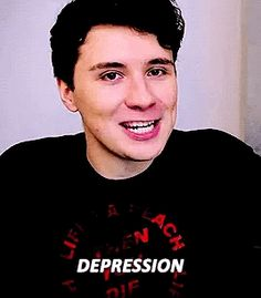 It makes me so sad that Dan has depression, I'm glad he's doing better but it still breaks my heart