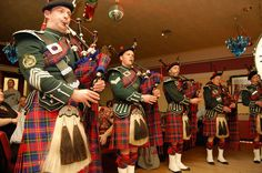 Christmas Traditions: The Scottish people have their big celebrations on New Year's Eve (rather than Christmas), and this event is called Hogmanay.