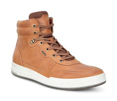 best service c6d9c 2bfe5 ECCO Jack High Top (LION) Ecco Shoes Mens, Casual Boots, Men Casual