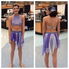 Zbling custom made dance costume