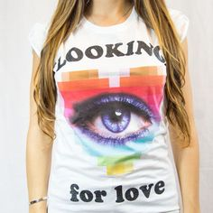 Looking for Love Happiness T-shirt