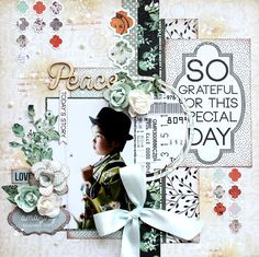 I like the wording of the large saying.good for a lot of occasions! Scrapbook Blog, Kids Scrapbook, Wedding Scrapbook, Scrapbooking Layouts, Scrapbook Pages, Mr Fox, Shabby Chic Cards, Photo Layouts, Wedding Paper