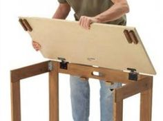 American Woodworkers DIY for portable table