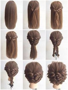 Diffirent hair style