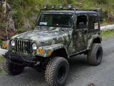 Where have you been all my life!! I love you. #Camo #jeep #perfection