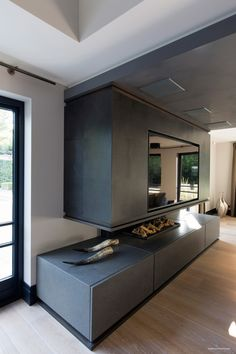 Ultramodern, Sleek House With Sharp Lines   With this house, interior designer Eric Kant has gone to great lengths to create a home that is not only sleek and stylist, but also has all the trappings of modern luxury. ...