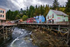 Alaska: Creek Street  - HouseBeautiful.com