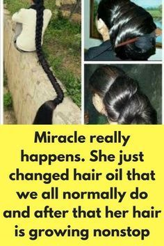 Miracle really happens. She just changed hair oil that we all normally do and after that her hair is growing nonstop For this hair mask you will need Onion Ginger Honey Castor oil For this remedy you will need onion juice and ginger juice In a bowl add 2 Hair Remedies For Growth, Home Remedies For Hair, Hair Growth Treatment, Hair Loss Remedies, Hair Growth Tips, Hair Treatments, Onion Juice, Beauty Hacks Skincare, Coconut Oil Hair Mask