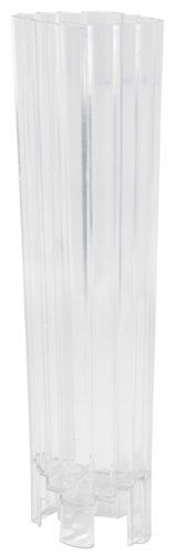 RAYHER 3118300 Kerzengie�form Flachstufe, SB-Beutel 1 St�ck, 65 x 45 mm, 22,5 cm hoch