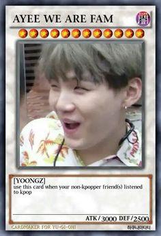 I'm coming for you, pata Funny Yugioh Cards, Funny Cards, Bts Funny Videos, Bts Memes Hilarious, Pokemon Card Memes, K Pop, Response Memes, Bts Meme Faces, Text Memes