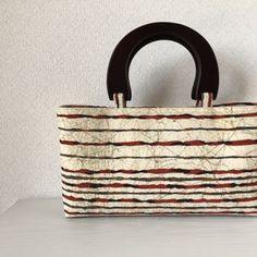 帯バッグ〜縞々〜の画像