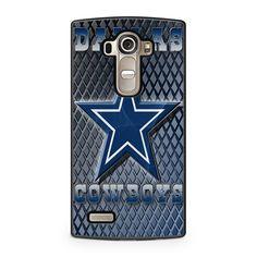 NFL Dallas Cowboys Blue Faux Glitter Sparkle LG G4 case