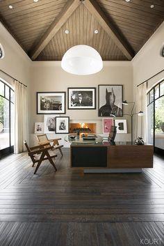 So This Is What Kourtney Kardashian's Home Office Looks Like via @MyDomaineAU