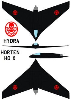 Horten Ho X HYDRA by bagera3005 on deviantART | Mike Brown