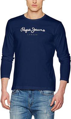Top Ware  Bekleidung, Herren, Tops, T-Shirts & Hemden, Langarmshirts Pepe Jeans, Long Sleeve Tops, Sleeves, Mens Tops, Fashion, Clothing, Button Up Shirts, Summer, Moda