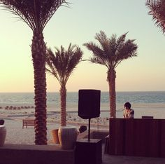 Feel the pulse of the ocean from the decks of our DJ Masako.
