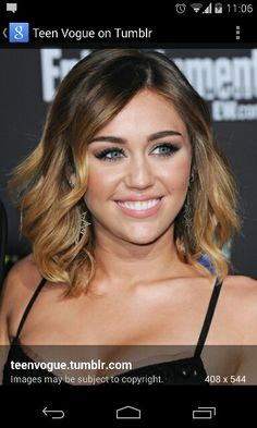 Miley ombre