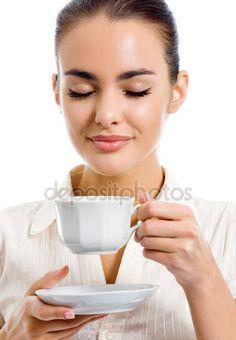 Výsledek obrázku pro dívka s kávou v ruce