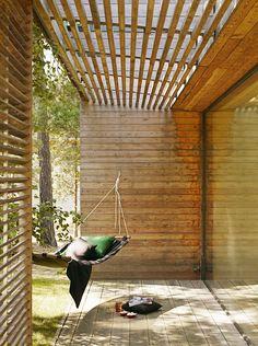 Villa Bergman Werntoft - Johan Sundberg Arkitektur i samarbete med Laine Montelin, Tyréns. Fotograf: Peo Olsson. 2005-2006.