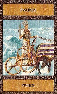 The Ancient Egyptian Tarot ► Prince of Swords