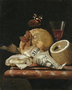 Martin Nellius (Dutch, 1621-1680) - Still life, oil on canvas, 24 x 19,4 cm
