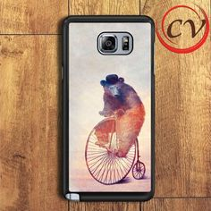 The Morning Ride Art Samsung Galaxy Note 6 Case