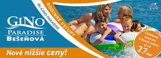 GINO PARADISE BEŠEŇOVÁ | Wellness & Spa | Vodný raj | Ubytovanie | Liptov - home