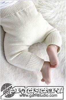 """Cozy and cute / DROPS baby - free knitting patterns by DROPS design Knitted DROPS pants in """"Baby Merino"""". Free patterns by DROPS Design. Knitting , lace processing is the most beautiful ho. Baby Leggings, Baby Pants Pattern, Crochet Baby Pants, Knitted Baby, Kids Crochet, Baby Knits, Knit Baby Sweaters, Free Crochet, Baby Knitting Patterns"""