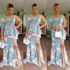 Ankara Long Gowns : Beautiful Styles For Beautiful Ladies.Ankara Long Gowns : Beautiful Styles For Beautiful Ladies Ankara Dress Styles, Ankara Skirt, Ankara Fabric, African Fashion Dresses, African Dress, Ankara Fashion, African Hair, Latest Aso Ebi Styles, Fashion Prints