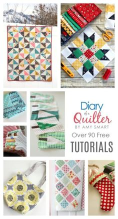Categorized Free Quilting Tutorials + New Quilt Blocks I love Amy Smart's ideas. I am using the Lattice quilt pattern for two baby quilts I will be making. Quilting Tips, Quilting Tutorials, Sewing Tutorials, Sewing Hacks, Dress Tutorials, Sewing Tips, Quilting Projects, Sewing Ideas, Sewing Crafts