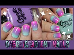 Ombre Nails - YouTube
