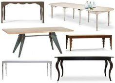 a lot of dining table design ideas!