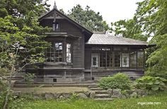 Gutterless roof google search construction details - Casa tradicional japonesa ...