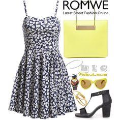 ROMWE19 by m-zineta on Polyvore featuring moda, Balenciaga, Gorjana and Linda Farrow