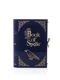 CHARLOTTE OLYMPIA Book of Spells clutch / yup! getting this, this is the my next purse!