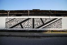 Street Art by Blaqk, via Vandalog
