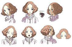 Haru expression artwork