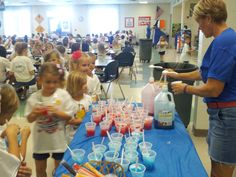 "The Friday before the Fun Run, we had ""Boosterthon Spirit Day"".  Students wore their Boosterthon t-shirts and we gave a free red or blue sno-cone to every student at lunch."