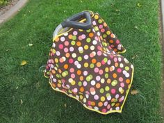 DIY Carseat cover & Nursing cover (all-in-one)