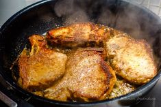 Långkokta kotletter med dijonsås Lchf, Pork, Low Carb, Meat, Chicken, Inspiration, Kale Stir Fry, Biblical Inspiration, Cubs