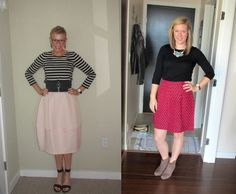 What We Wore: Pink Skirts | Two Take on Style
