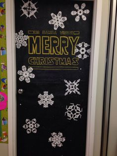Image result for star wars christmas cruise door